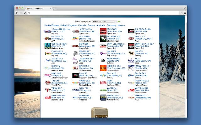 Stations Radio Player - La Radio en direct de Chrome