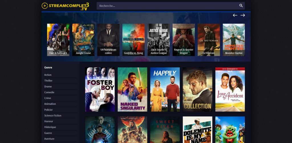 Streamcomplet3 la nouvelle adresse - Film Complet en Streaming VF