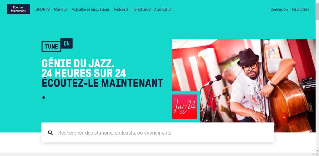 TuneIn - Radio en Direct Gratuite, Informations en direct, sport, musique