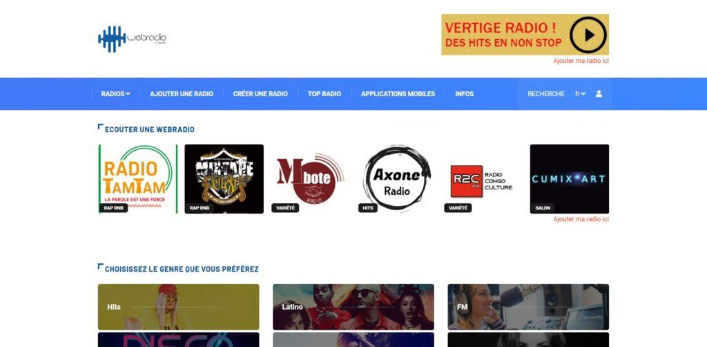 Webradios - Ecouter une radio, FM ou webradio internet gratuitement